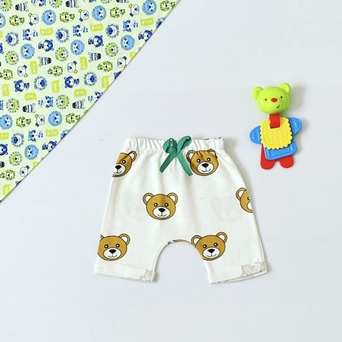 Spodenki teddy dla chłopczyka 56-92 cm