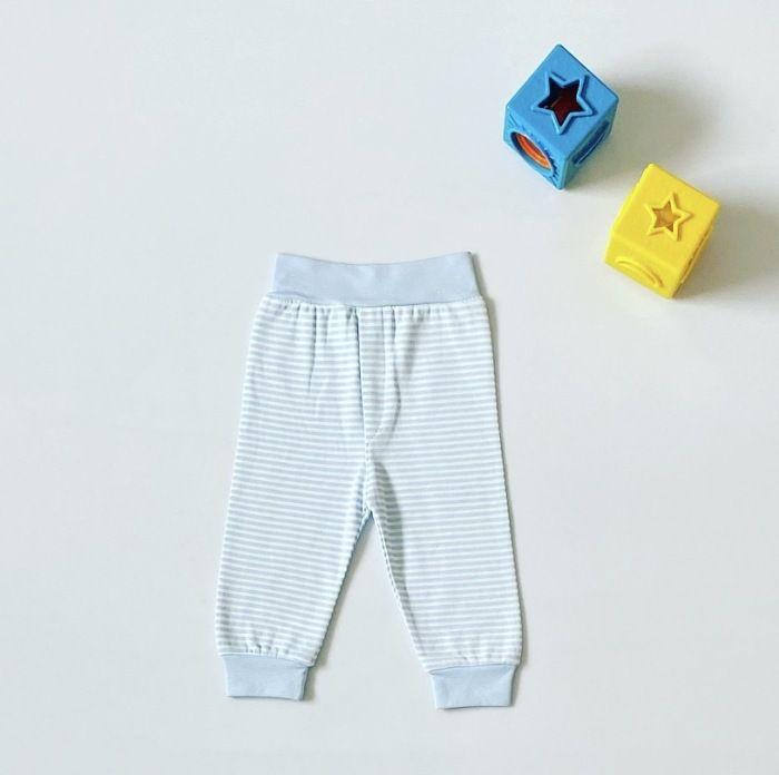 Spodnie w paseczki dla dziewczynki 56-92 cm