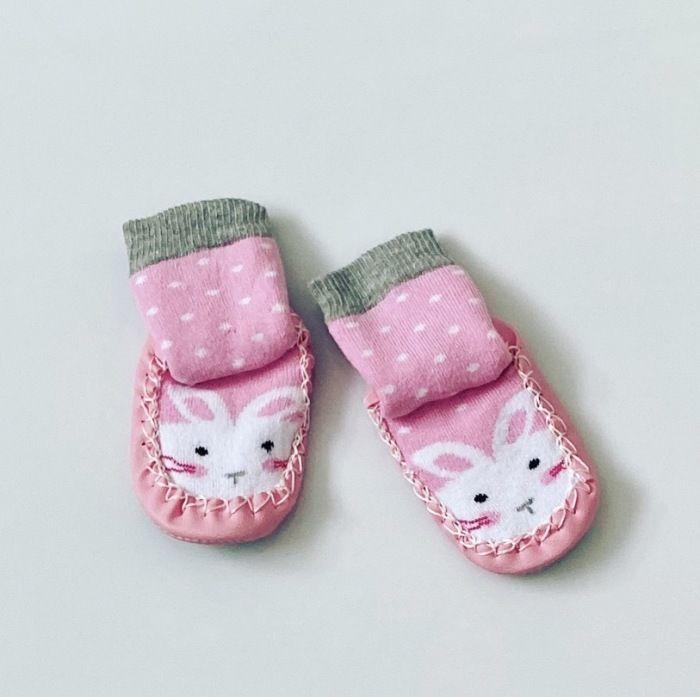 Buciki niemowlęce króliczek dla dziewczynki