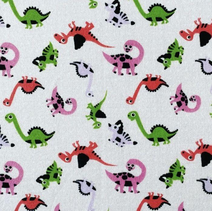 Pieluszka flanelowa - dinozaury
