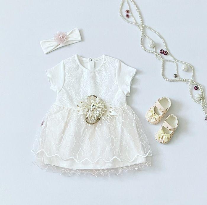 Sukienka lilia dla dziewczynki 56-92 cm
