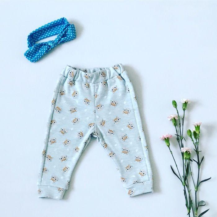 Spodnie lisek dla dziewczynki 56-92 cm