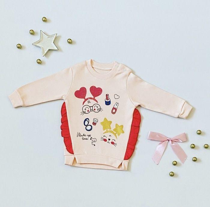 Bluza make up dla dziewczynki 56-92 cm