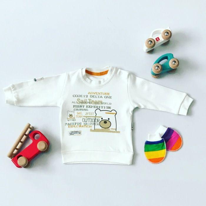 Bluza miś dla chłopczyka 56-92 cm