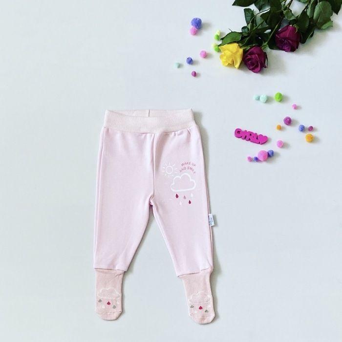Półśpiochy pink smile dla dziewczynki 56-92 cm