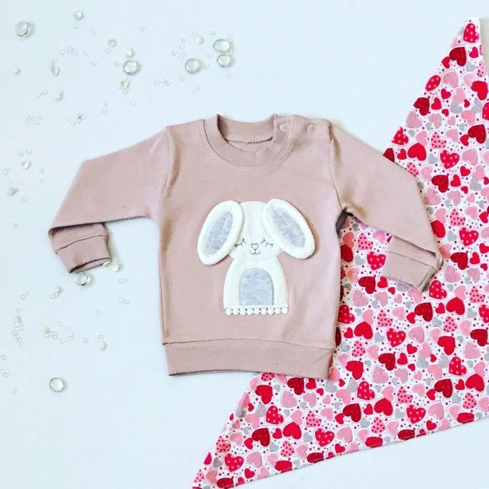 Bluza pinki dla dziewczynki 56-92 cm