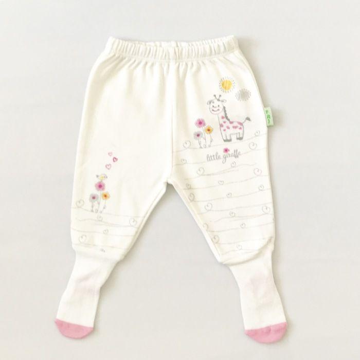 Półśpiochy z różowym akcentem dla dziewczynki 56-92 cm