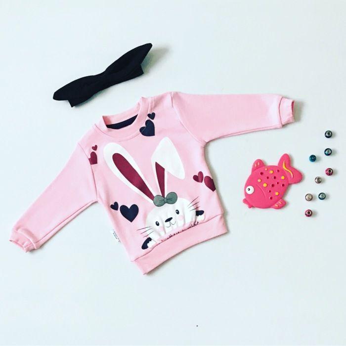 Bluza rabbit dla dziewczynki 56-92 cm