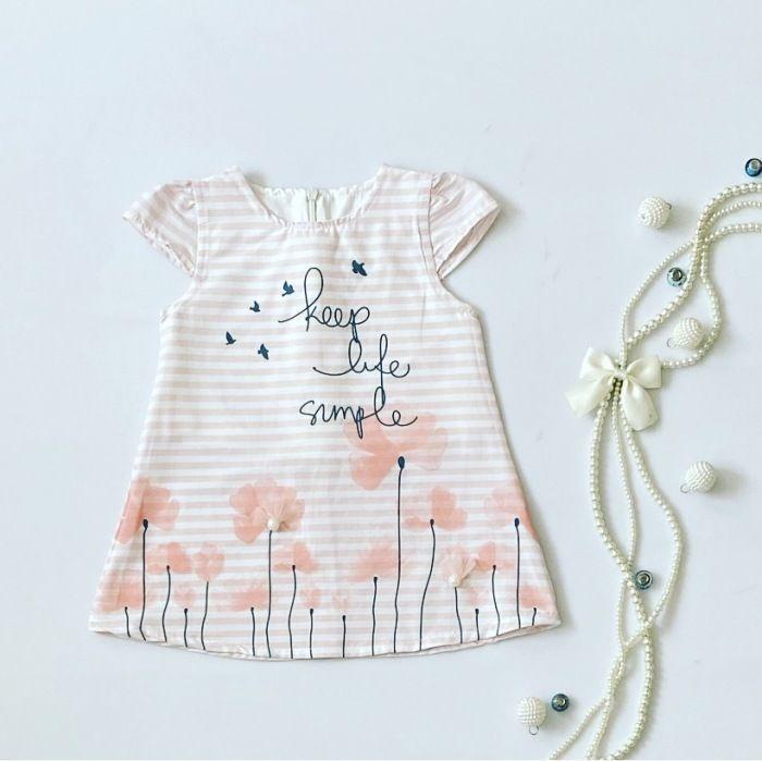 Sukienka simple dla dziewczynki 56-92 cm