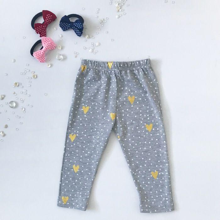 Spodnie serduszka dla dziewczynki 56-92 cm