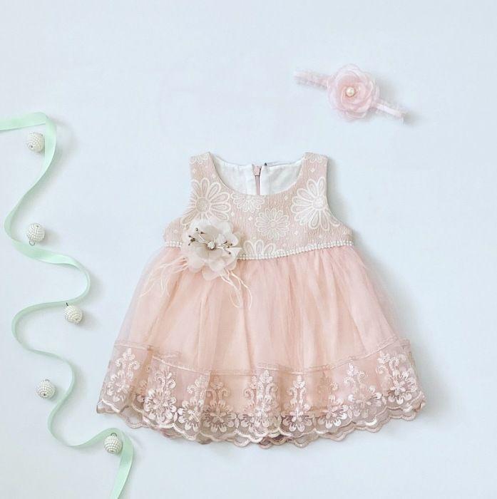 Sukienka sweet dla dziewczynki 56-92 cm
