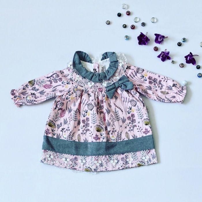 Sukienka violet dla dziewczynki 56-92 cm