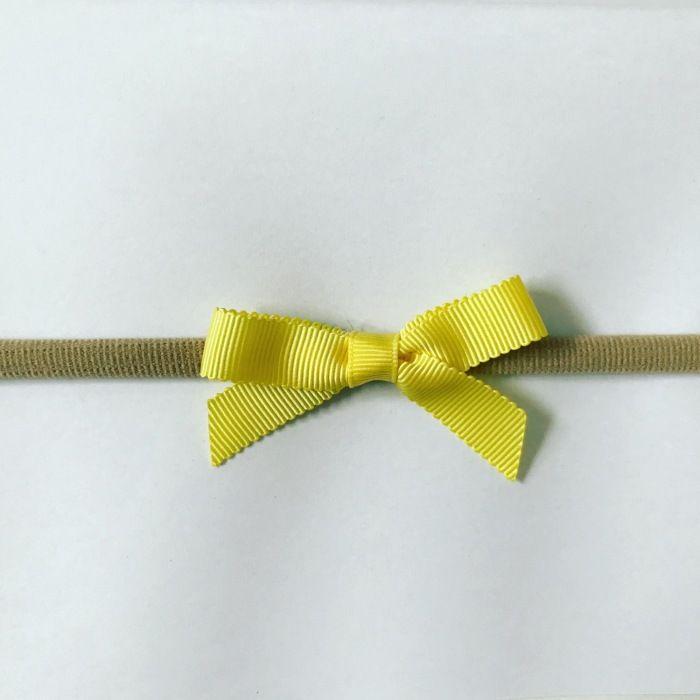 Opaska yellow dla dziewczynki