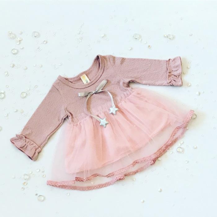 Sukienka z gwiazdkami dla dziewczynki 56-92 cm