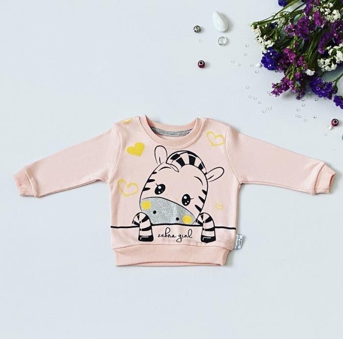 Bluza zebra girl dla dziewczynki 56-92 cm